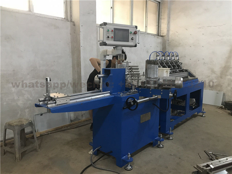 Customized 3 Layer Automatic Paper Straw Forming Machine 35-40m / Min